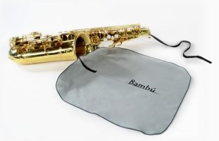Wycior z mikrofibry do klarnetu basowego Bambu PL05