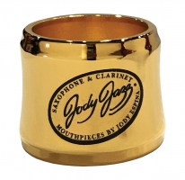 Ligaturka do saksofonu barytonowego JodyJazz Power Ring gold plated
