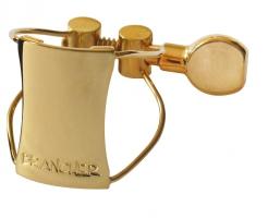 Ligaturka do saksofonu barytonowego Brancher gold wire