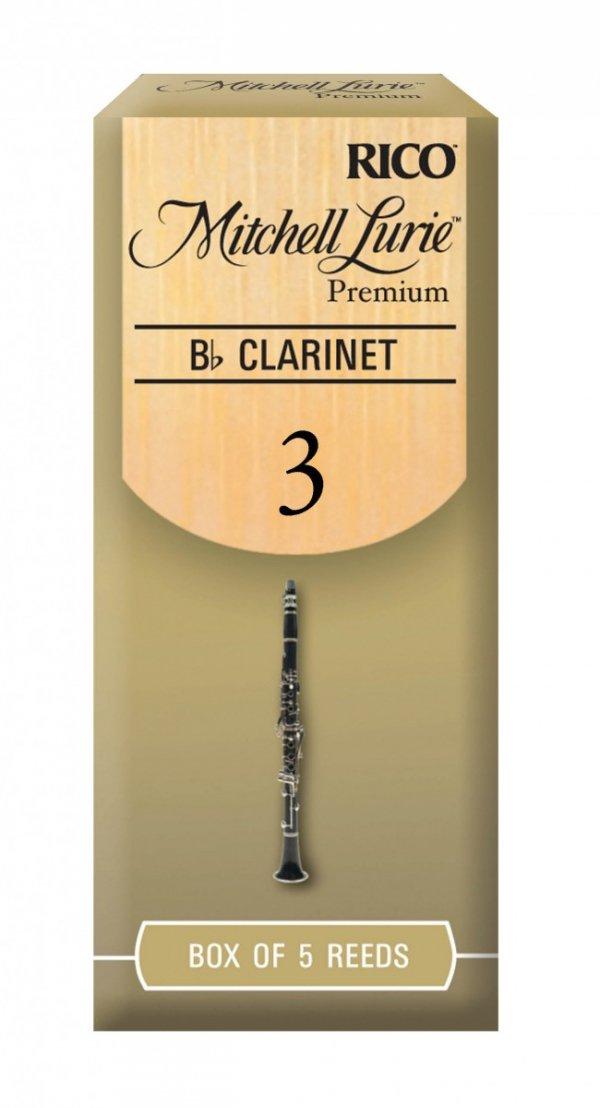 Stroiki do klarnetu B/A Rico Mitchell Lurie Premium