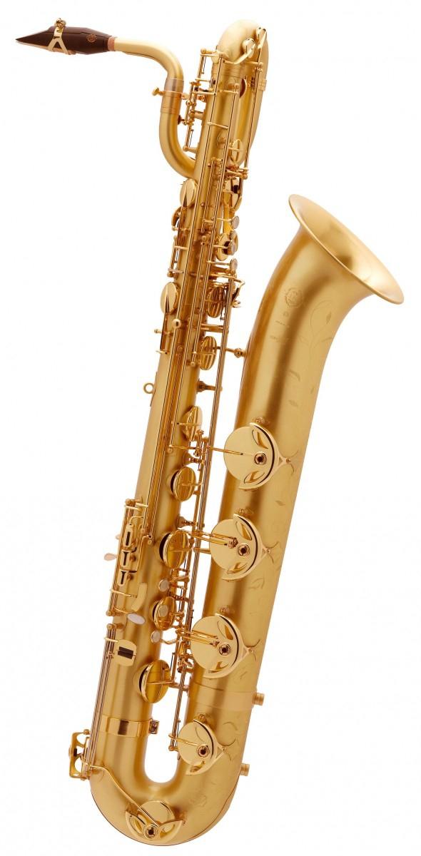 Saksofon barytonowy Henri Selmer Paris Serie III BGG GO brushed gold lacquer