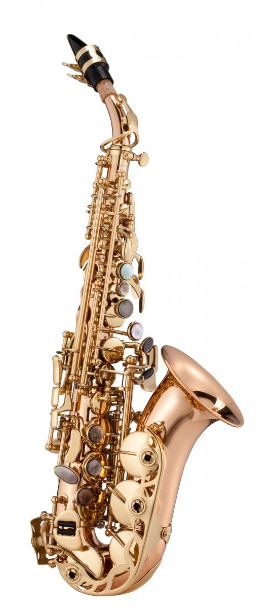 Saksofon sopranowy LC Saxophone SC-602CL clear lacquer