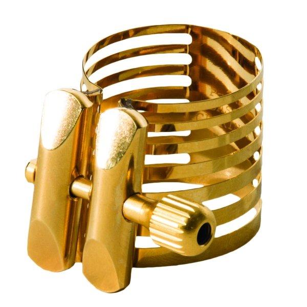 Ligaturka do saksofonu tenorowego Rovner Platinum Gold