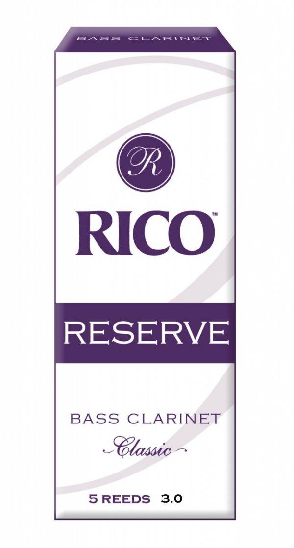 Stroiki do klarnetu basowego Rico Reserve Classic