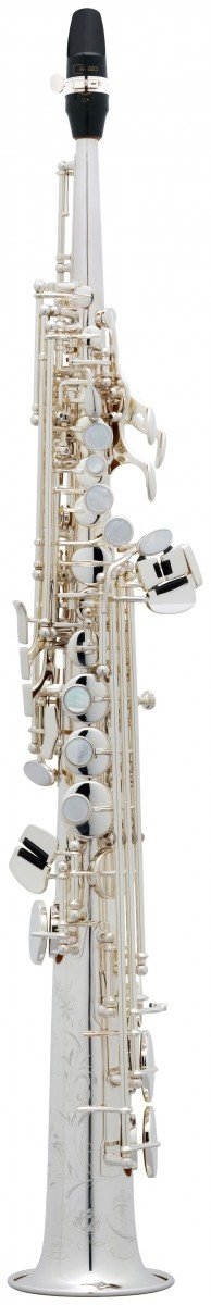 Saksofon sopranowy Henri Selmer Paris Super Action 80/Serie II AG silver plated