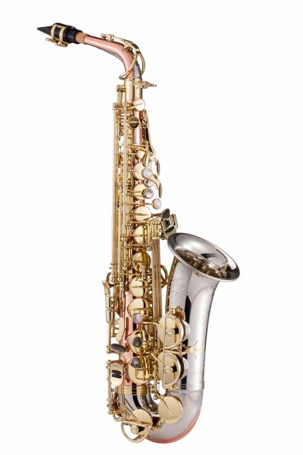 Saksofon altowy LC Saxophone A-705CL clear lacquer