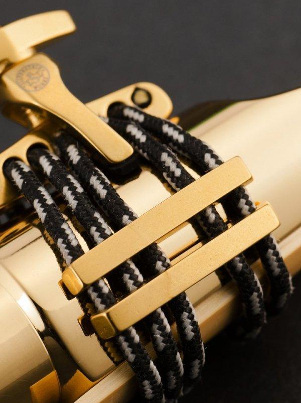 Ligaturka do klarnetu B/A Silverstein CRYO4 Gold