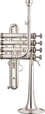 Trąbka piccolo B/A Stomvi Titan Bellflex posrebrzana