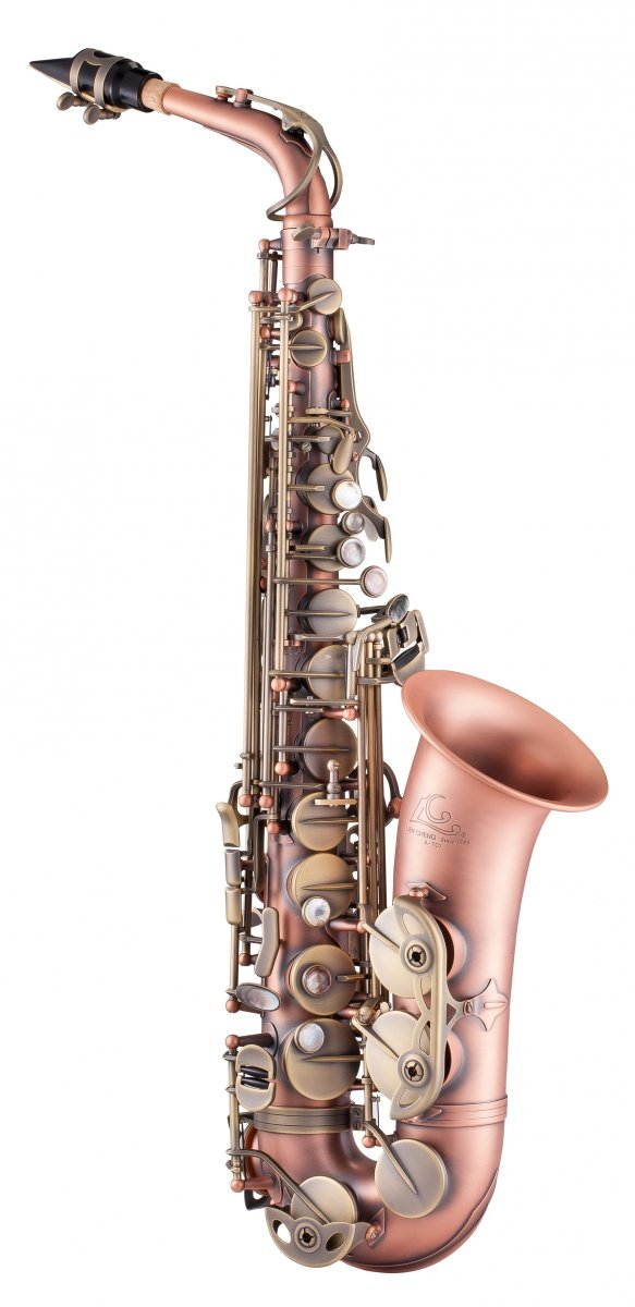 Saksofon altowy LC Saxophone A-701RF dark red antique finish