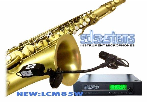 Mikrofon bezprzewodowy do puzonu SD Systems LCM 85 W(ireless)