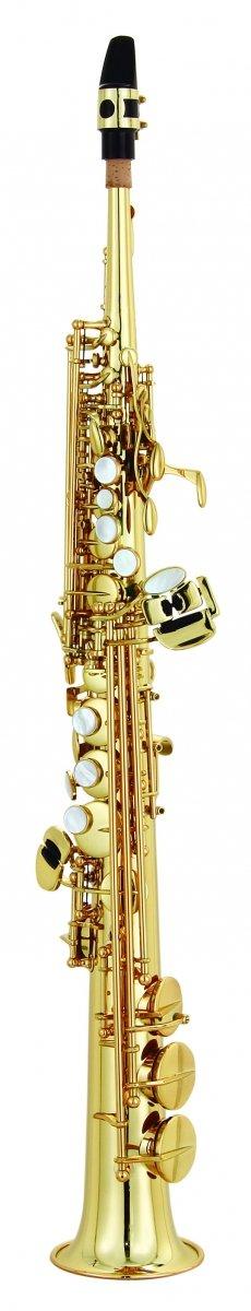 Saksofon sopranowy LC Saxophone SU-701CL clear lacquer