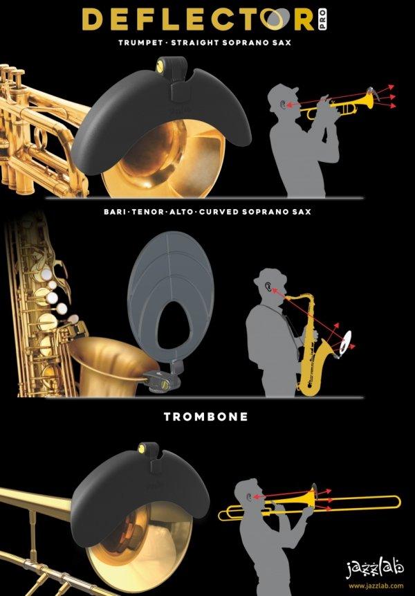 Ekran odsłuchowy Jazzlab Deflector Pro Sound Monitor