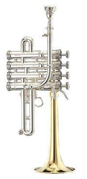 Trąbka piccolo B/A Stomvi Master posrebrzana