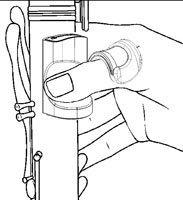 Podpórka pod kciuk do klarnetu B/A Ton Kooiman Etude 2