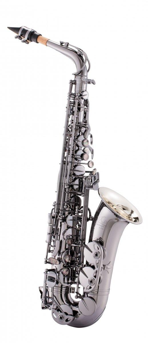 Saksofon altowy LC Saxophone A-704BD black plated finish