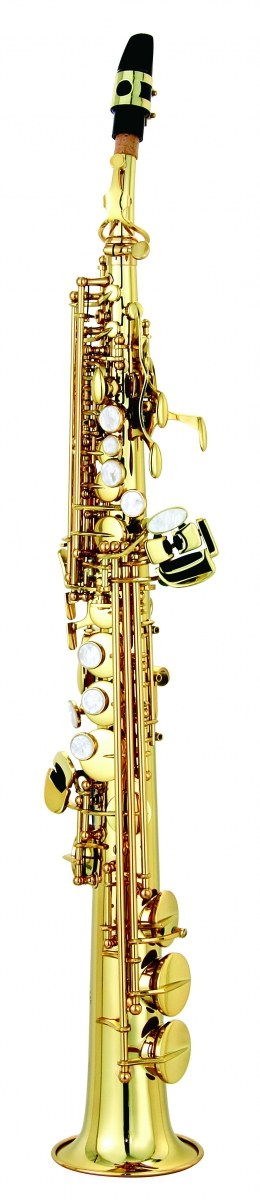 Saksofon sopranowy LC Saxophone S-601CL clear lacquer