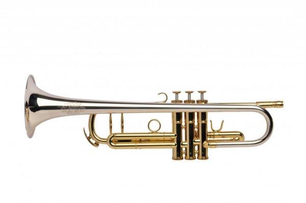 Trąbka B Adams A2 Selected silver plated