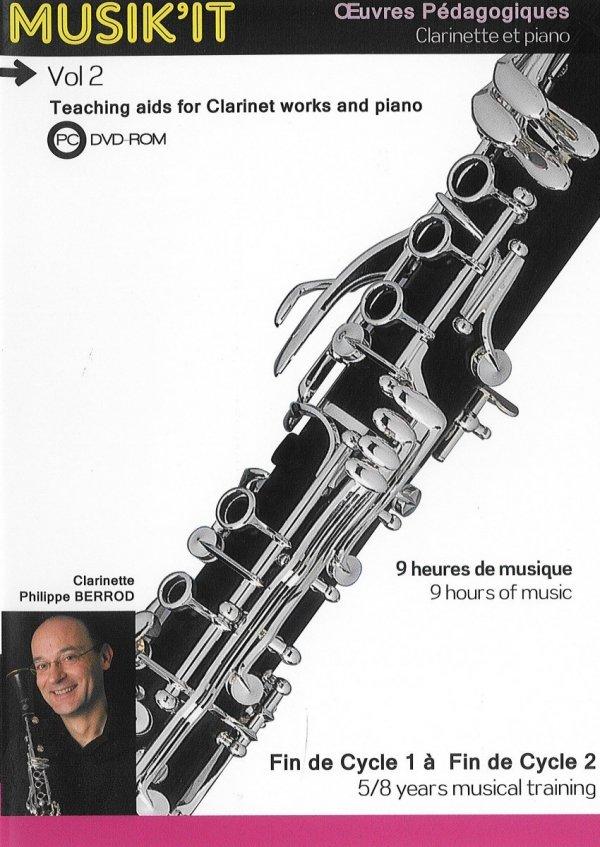 Płyta DVD Henri Selmer Paris Musik'it klarnet B/A vol. 2