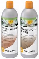 Zestaw do podłóg olejowanych Pallmann Clean + Oil Care 0,75 L