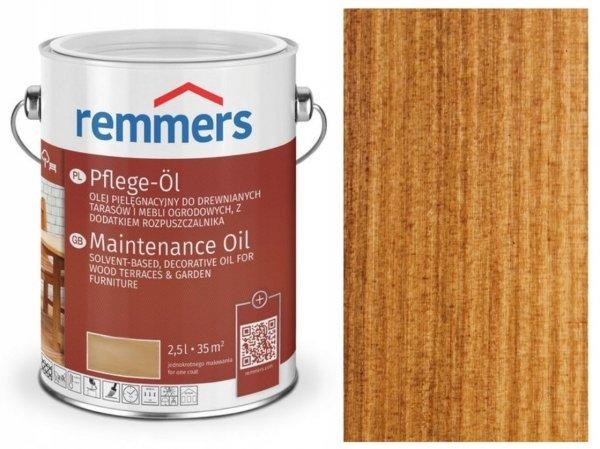 Olej tarasowy Remmers Pflege-Ol opak. 5 L TEAK