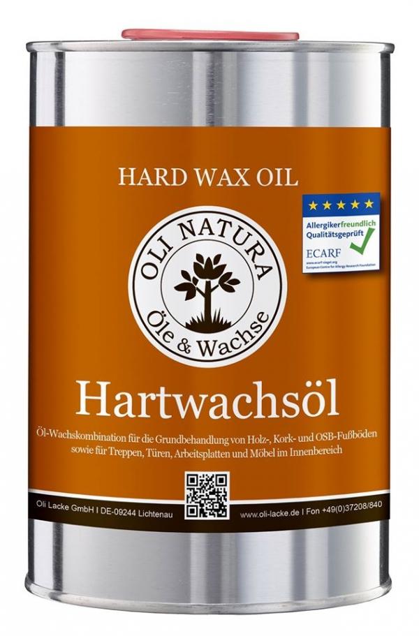 Olej do blatów i mebli z twardym woskiem Oli-Natura Hartwachsöl NATURALNY 1 L