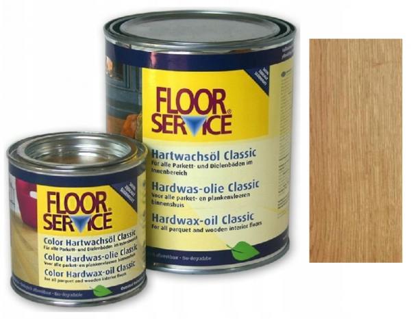 Wosk Twardy Olejny Floor Service NATURIO  opak. 2,5 L