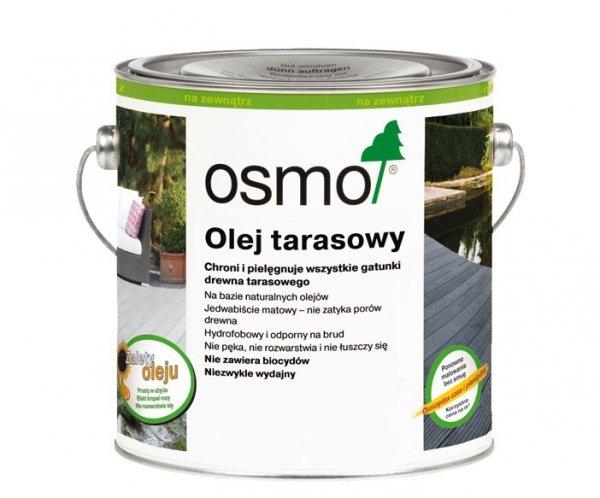 Olej Tarasowy Osmo 021 opak. 2,5 L DĄB BRUNATNY