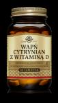 Solgar Wapń cytrynian z witaminą D