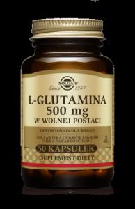 Solgar L-glutamina 500 mg