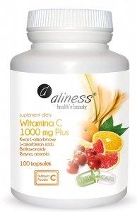 Witamina C 1000 mg Plus x 100 kaps VEGE Aliness