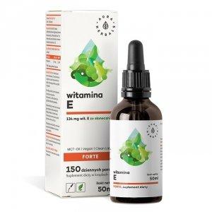 Witamina E Forte (200 IU) MCT-Oil - krople (50ml) Aura Herbals