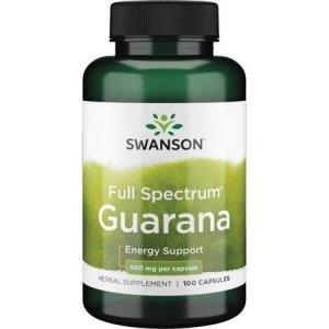SWANSON Guarana 500mg 100 kaps