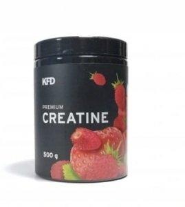 KFD Premium Creatine 500 g  Smak : Truskawkowo - poziomkowy