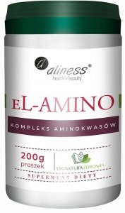 Aliness eL-AMINO kompleks aminokwasowy b.smaku, proszek 200g