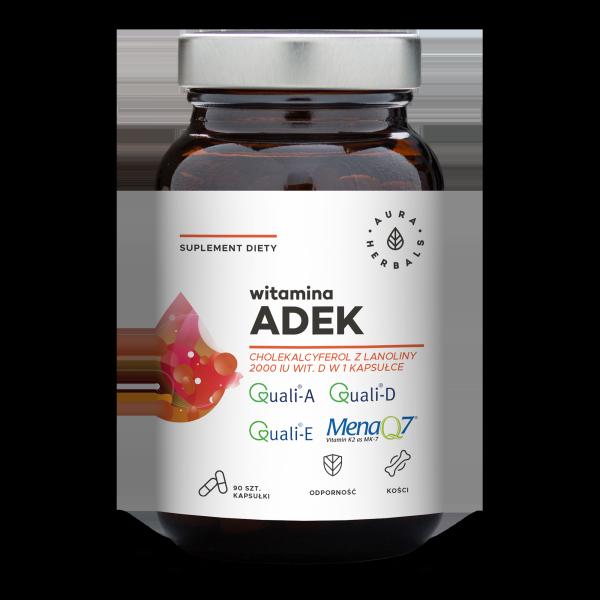 Aura Herbals witamina ADEK, kapsułki 90 szt.