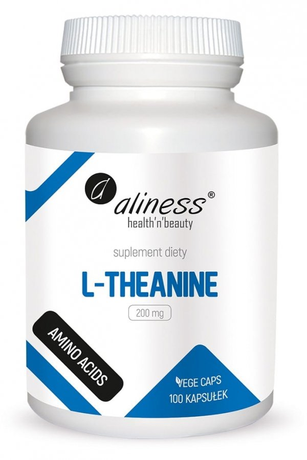 Aliness L-Theanine 200 mg x 100 Vege caps