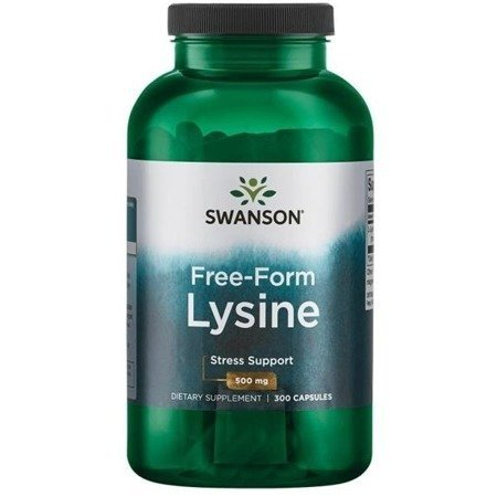 SWANSON L-Lizyna 500 mg 100 kaps SW268