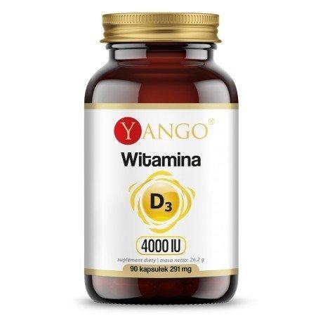 Yango Witamina D3  4000 IU 90 kaps