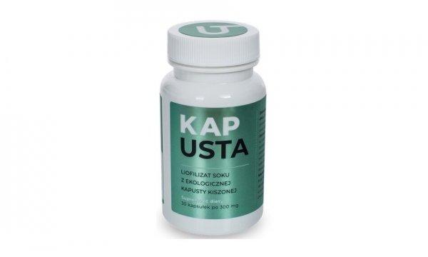 Visanto Kapusta-iofilizat soku z ekologicznej kapusty kiszonej 60 kapsulek
