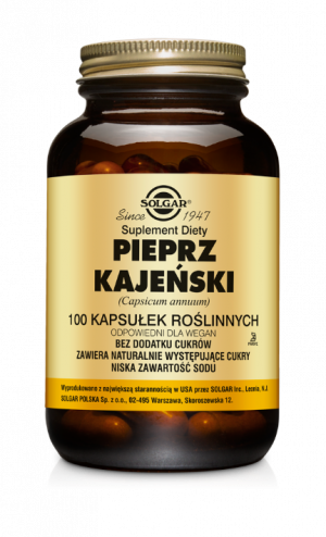 Solgar Pieprz Kajeński
