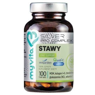 MyVita Silver Pro Complex Stawy, 100 kaps.