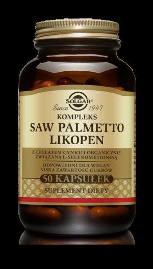 Solgar Kompleks Saw Palmetto Likopen