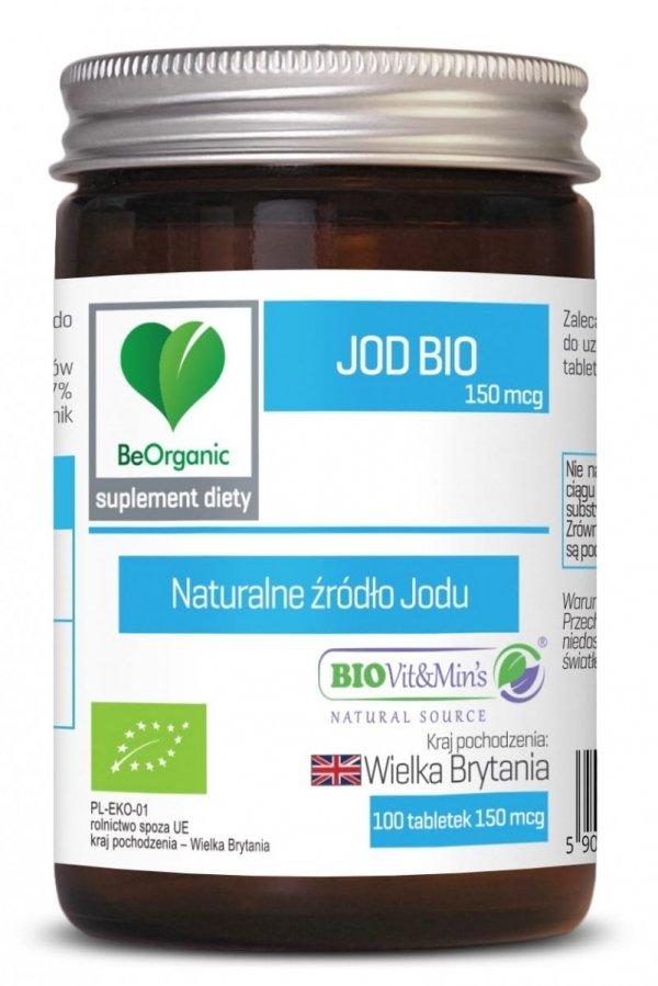 MedicaLine Jod Bio 150 mcg x 100 tabletek