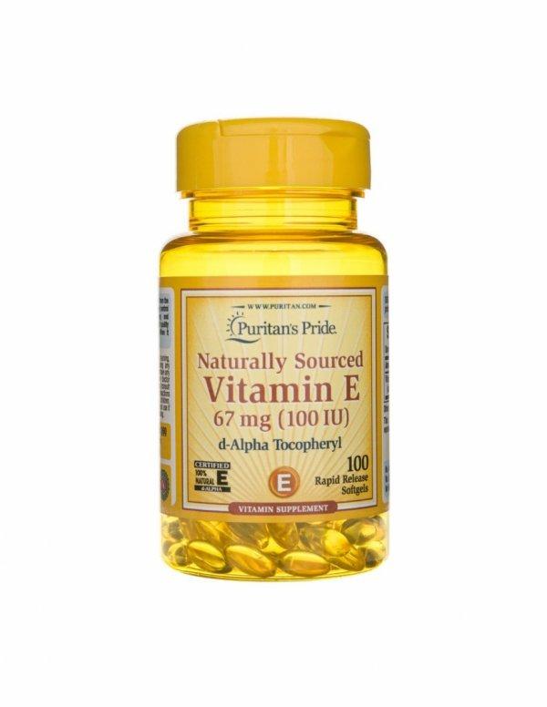 Vitamin E 100IU 100sfg Puritan's Pride