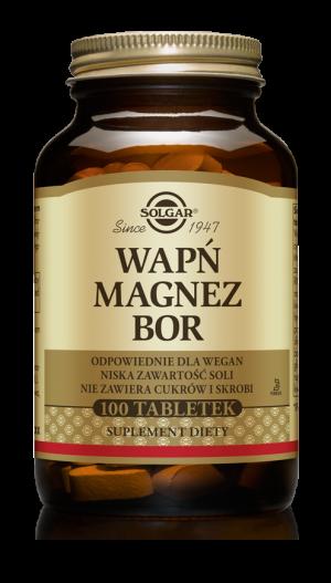 Solgar Wapń Magnez Bor