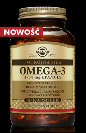 Solgar OMEGA 3 potrójna siła 1764 mg EPA/DHA