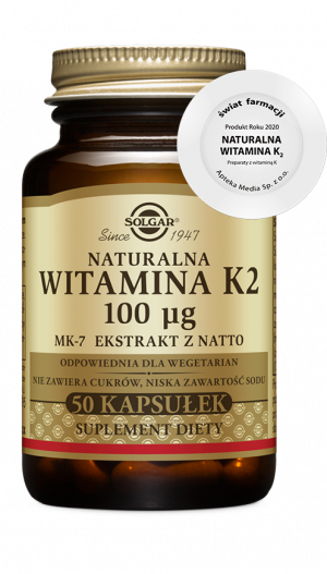 Solgar Naturalna witamina K2