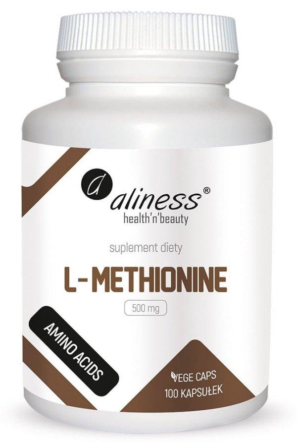 Aliness L-Methionine 500 mg x 100 Vege caps