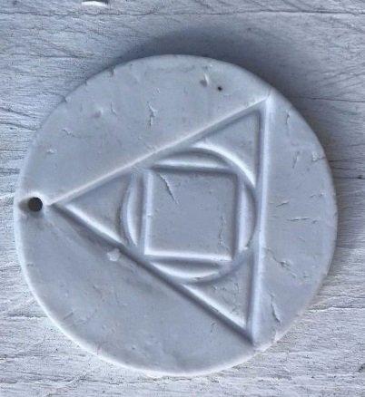 Medalik Probioceramiczny