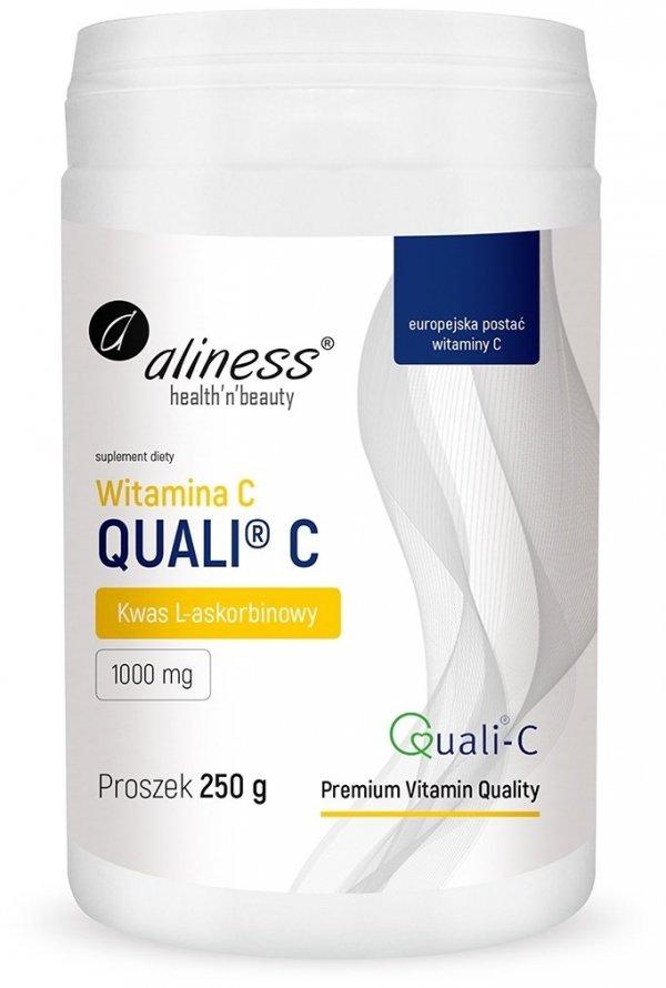 Aliness Witamina C Quali®-C (kwas L-askorbinowy) 250 g proszek